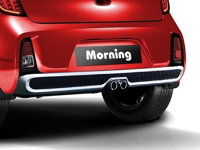 Đuôi xe Kia Morning