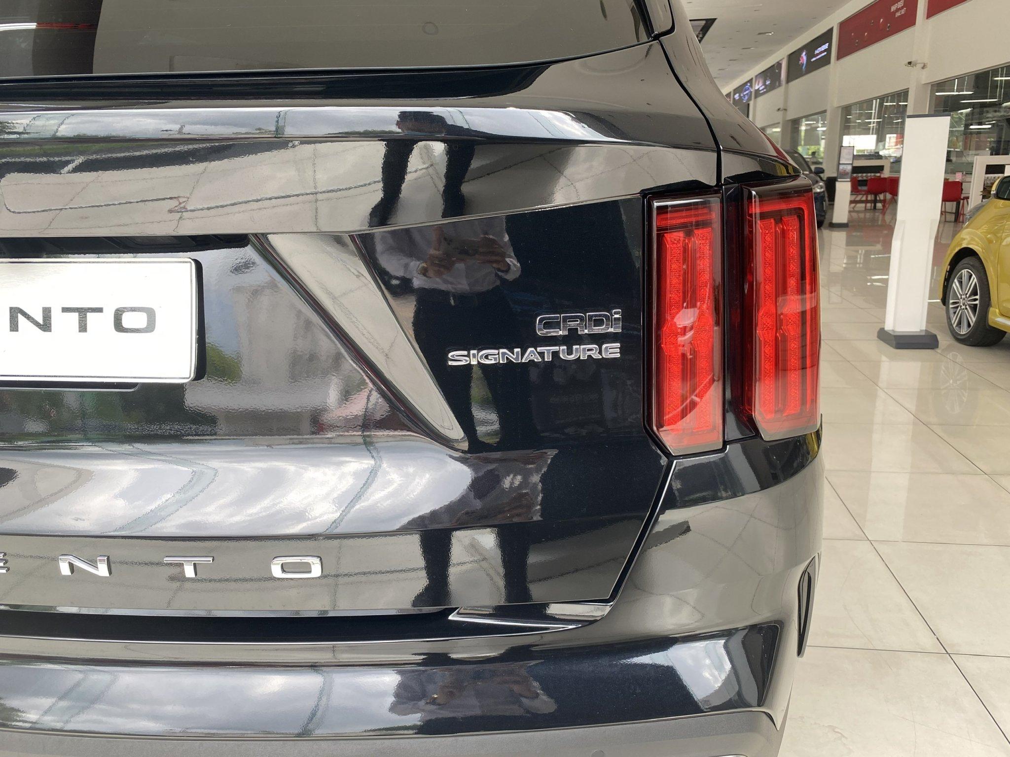 Các ký hiệu sau đuôi xe để phân biệt máy dầu thường là CRDI, D tùy theo ký hiệu của từng hãng xe