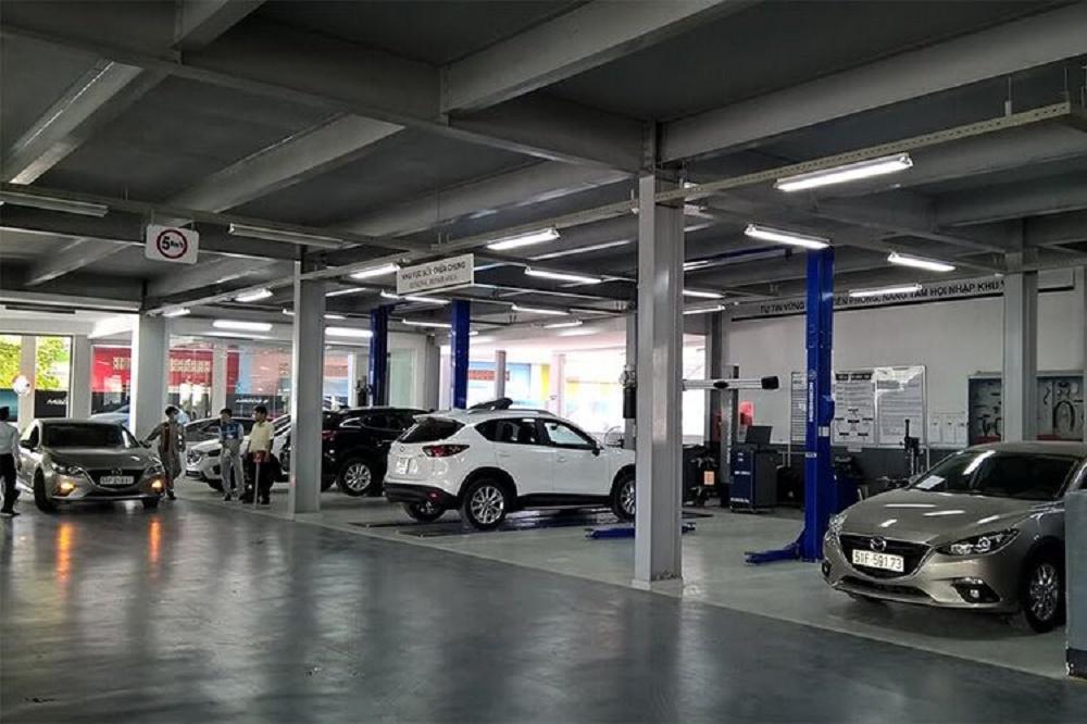 Xưởng dịch vụ tại Mazda Gò Vấp